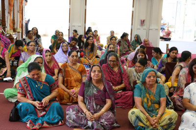 Many disciples attended the Gurupoonam celebration