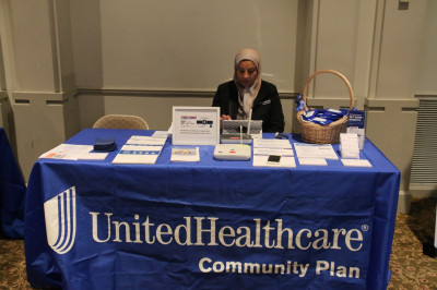 United Healthcare Community Plan was present to aid with healthcare needs