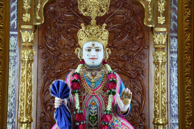 Divine darshan of Supreme Lord Shree Swaminarayan