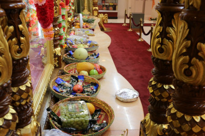 Chaab items offered to Lord Swaminarayanbapa Swamibapa