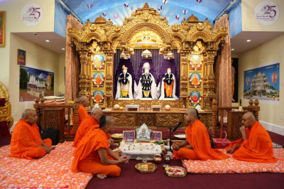 Sants lead the Maha-Yagna