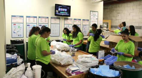 Shree Swaminarayan Temple, New Jersey volunteers at MedShare