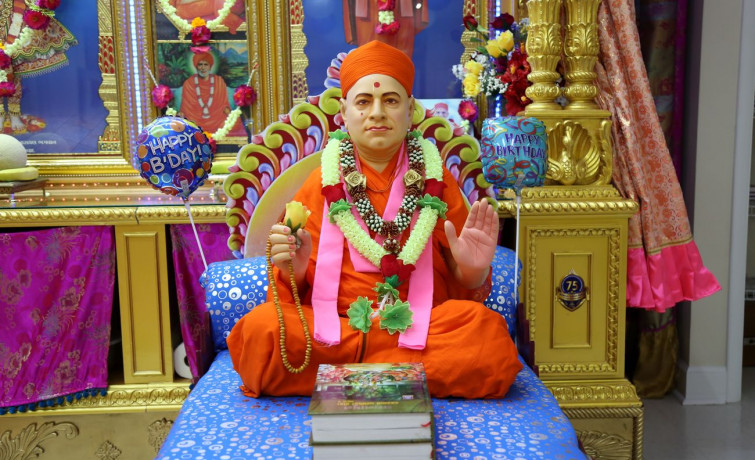 Shree Muktajeevan Swamibapa Jayanti Celebration in Ocala, Florida