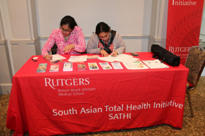 Proud to partner with Rutgers University Robert Wood Johnson Medical School and promote the South Asian Total Health Initiative � SATHI