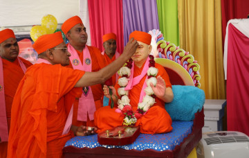 Guru Purnima Celebration and Shree Swaminarayan Mandir, Florida 5th Patotsav