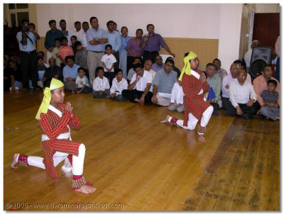 Devotees of all ages took part in the performances