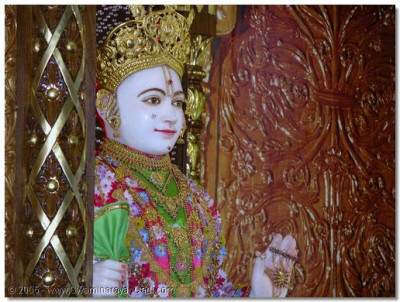 Darshan of Lord Swaminarayan in Bolton on patotsav day