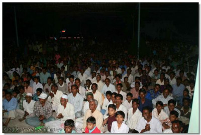 Thousands of people, from all regions of Panchmahal came to view the drama