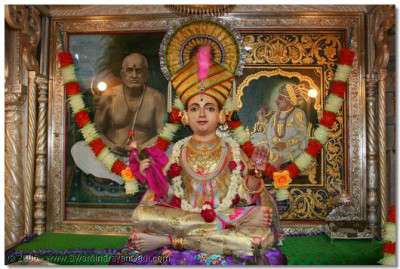 Divine darshan of Shree Sahajanad Swami
