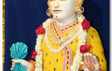 Chandan Darshan of Lord Shree Swaminarayan