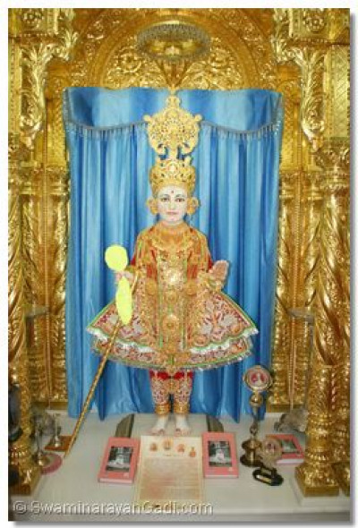Divine darshan of Lord Shree Swaminarayan in Maninagar Temple