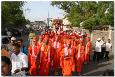 Procession of Peace held in Rajkot