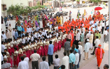 Gurupoornima Celebrations in Maninagar