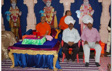 Silver Jubilee at Shree Swaminarayan Temple Mordungra