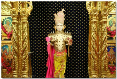Divine darshan of the supreme Lord Shree Swaminarayan – Shree Ghanshyam Maharaj