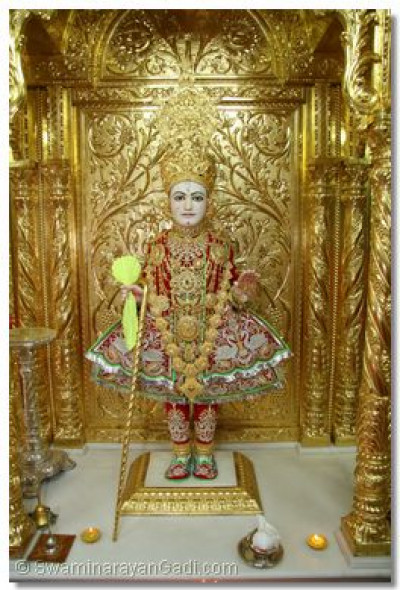 Divine darshan of Lord Shree Swaminarayan on Annkut celebrations day