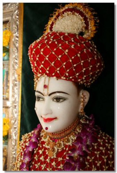 Enchanting Shree Ghanshyam Maharaj