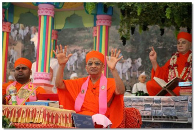 Acharya Swamishree describes the mercy of our beloved Lord