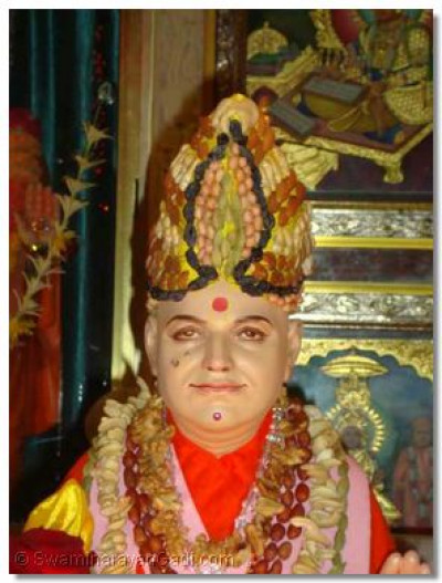 Divine darshan of Jeevanpran Swamibapa at Varodara