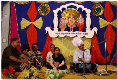 Kirtan Bhakti performances during the evening of 27th January