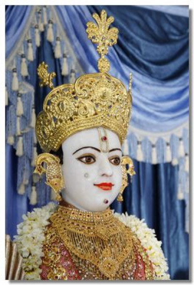 Divine darshan of the Lord