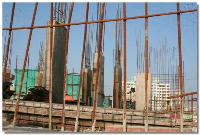 Construction of Shree Swaminarayan Temple Mumbai continues