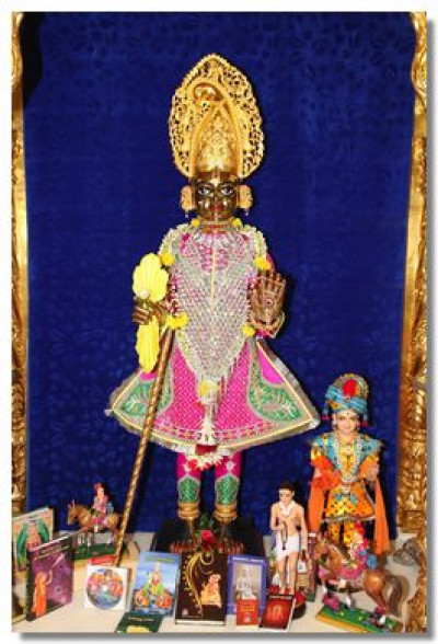 Divine darshan of Shree Harikrishna Maharaj