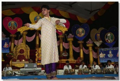 A classical Kathak dance performance