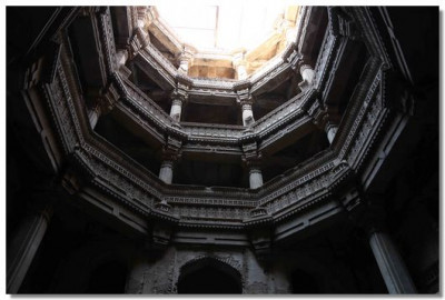 A view of the stepwell