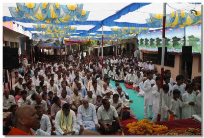 Assembly held in Boridra on Sunday 28 April