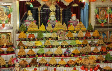 Diwali and New Year Festivities in Maninagardham
