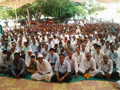New Year's day sabha in Vaghjipur, Panchmahal