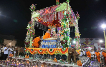 Sharad Poornima in Godhra, Panchmahal