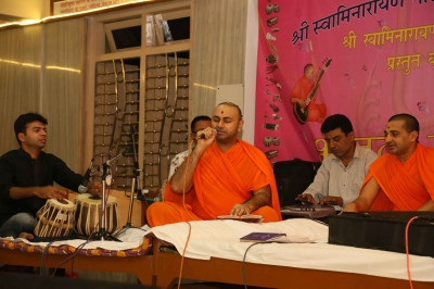 Kirtans sung by sants