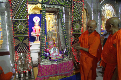 Prasad is offered to the Lord