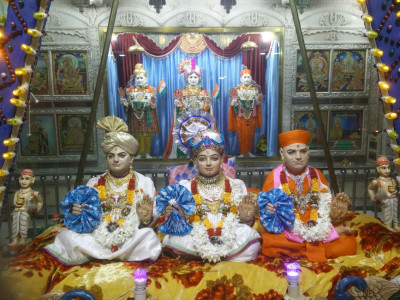 Bavla Mandir -  Decorative Beads Hindola