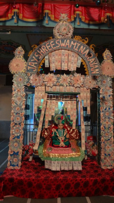 Harkundi Mandir - Money Hindola Darshan