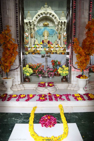 Annakut darshan at Kadi Mandir