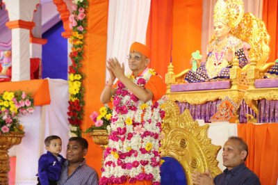 Divien darshan of Acharya Swamishree