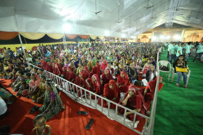 Thousands have gathered from across the world to attend the festivities