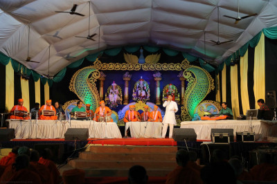 Talented Sants, disciples and artists skillfully perform devotional songs