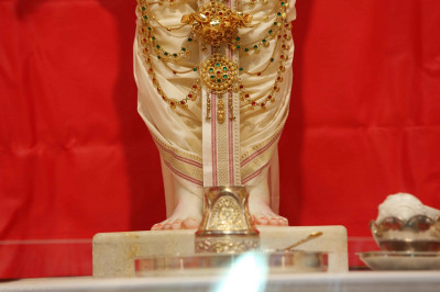 The divine lotus feet of Lord Shree Swaminarayan