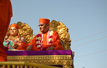 Acharya Swamishree in Panchmahal