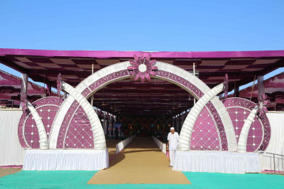 The sabha mandap