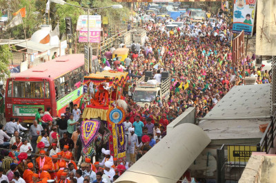 Procession continues through Ranip