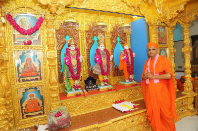 Divine darshan of the Murtis<br><br>