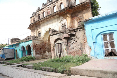Some of the old buildings in Ayodhya
