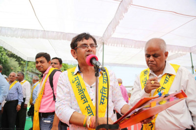 One of the key organisors of the yatra, Kirtibhai Varsani, speaks about the next stage of the yatra