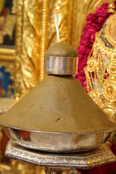 Prasad offered to the lord
