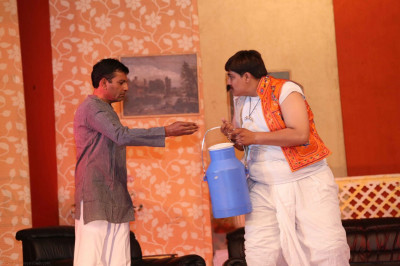 A scene from a drama performance